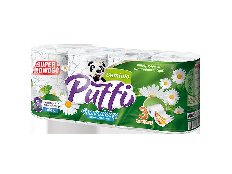 Papier toaletowy Puffi Camillio