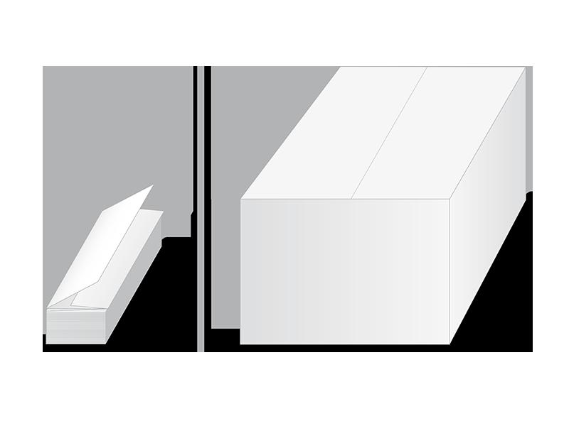 Ręczniki składane V-Fold